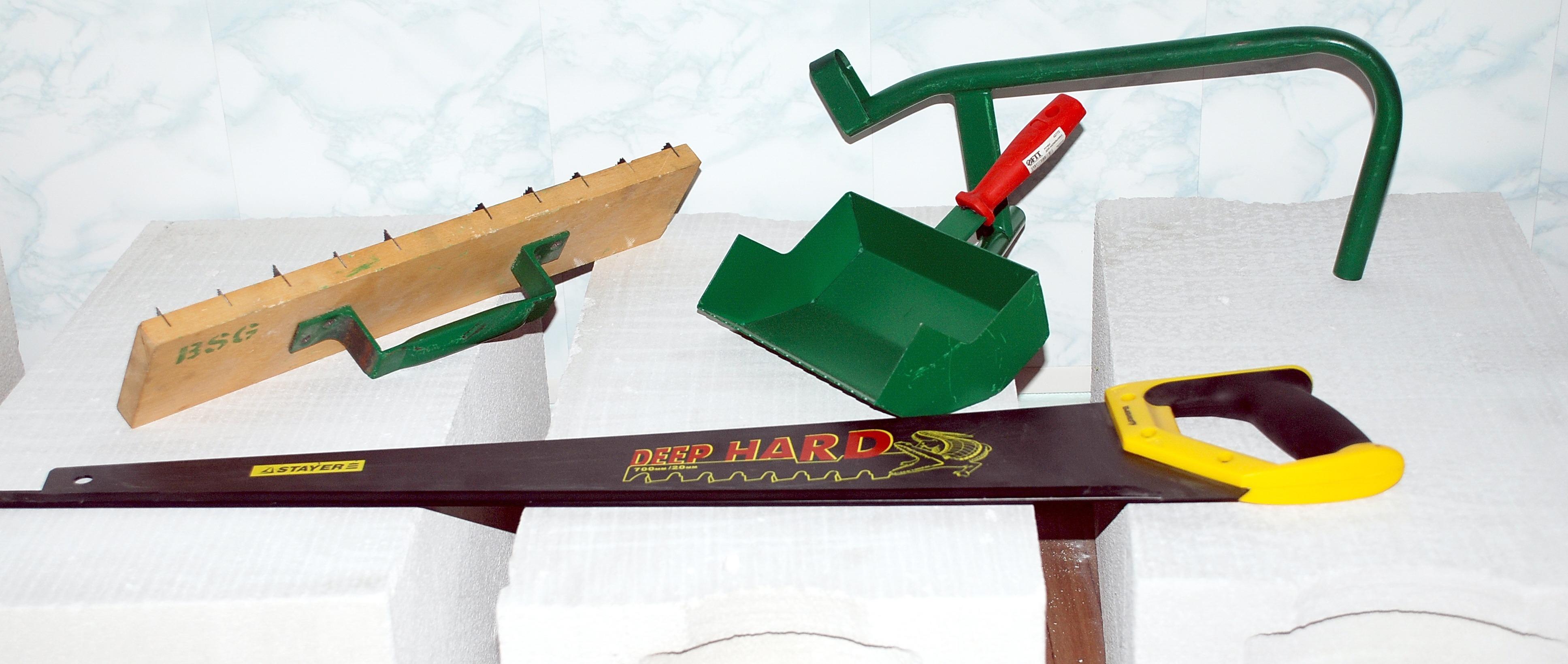 Ручной штроборез по газобетону своими руками