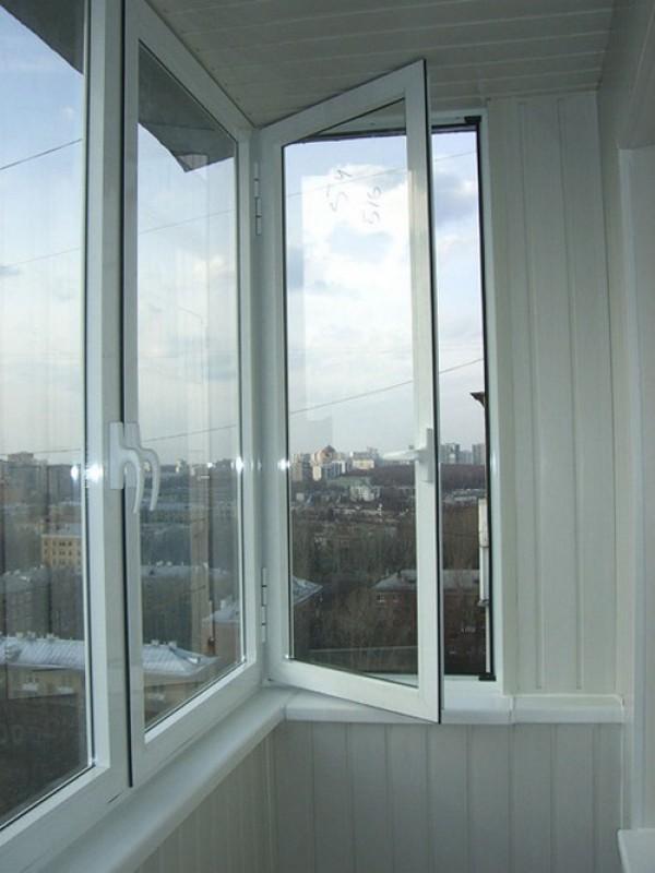 Распашные алюминиевые окна для балкона цена..